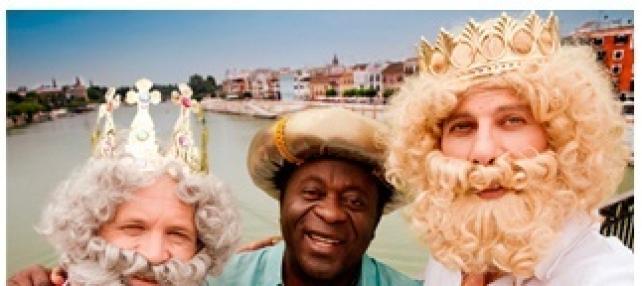 Los Reyes Magos También Visitan Sevilla En Verano.